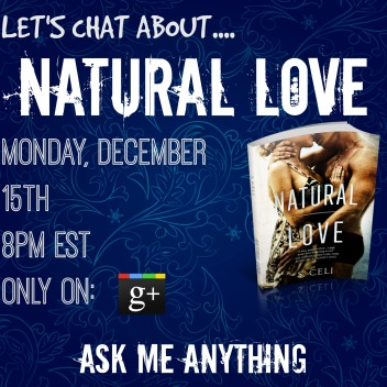 Natural Love Google Plus Book Chat